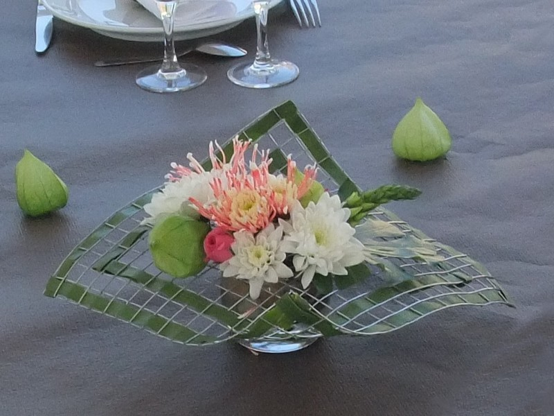 Art Floral Centre De Table Grillag